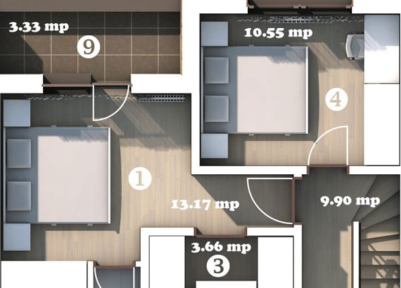 Plans for House Type 2
